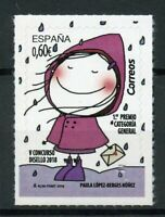 Spain 2019 MNH Disello Stamp Design General 1v S/A Set Cartoons Philately Stamps