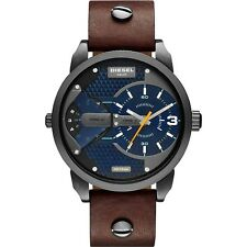 NEW DIESEL DZ7339 MENS MINI DADDY CHRONOGRAPH WATCH - 2 YEAR WARRANTY