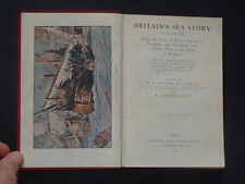 BRITAINS SEA BATTLES: Trafalgar / Sea Fights / Nautical / Ships / Trade / 1906