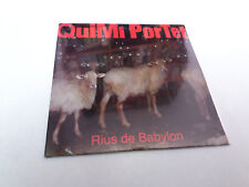 "QUIMI PORTET ""RIUS DE BABYLON"" CD SINGLE 2 TRACKS PRECINTADO SEALED ULTIMO DE LA"