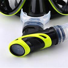 Underwater Clear Silicone Scuba Diving Dive Tube Snorkel Mouthpiece Regulator Fm