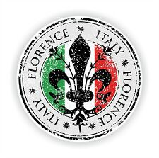 Florence Seal Sticker Decal for Laptop Tablet Fridge Door Tuscany Italia