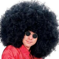 Jimmy Hendrix 1970s Super Jumbo Pimp Black Afro Wig Fancy Dress NEW P5608