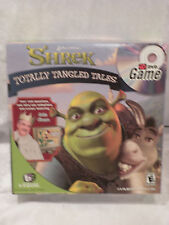 SHREK TV DVD GAME TOTALLY TANGLED TALES  BY BEQUAL COMPLETE GAME