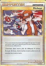 """Carte Pokemon """" SUPPORTER """" Heartgold Sousilver Pêcheur 92/123 UNCO  VF"""