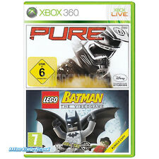 Xbox 360 Spiele-bundle pure & Lego Batman