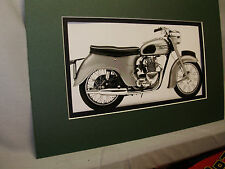 1958 Triumph Twenty One British  Motorcycle Exhibit from Automotive Museum