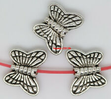 20pcs tibet silver nice exquisite butterfly jewelery charm bead spacer 10.5x8mm