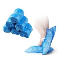 100pcs/50 Pairs Disposable Plastic Household Foot Cover Shoe Covers