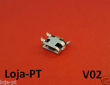 V02 - Micro USB Charging Port DC Power Socket 5 Pin for Fix Phones and Tablets
