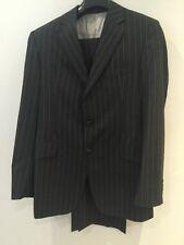 Richard James Men's Grey Pinstripe Suit 42 uK