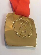 Sarajevo 1984 Yugoslavia WINTER OLYMPICS SOUVENIR GOLD MEDAL RARE!!!