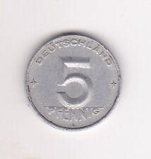 Germany 5 Pfennig Aluminium Coin - 1949 MUST L@@K !!