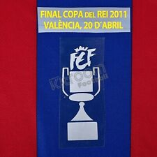 2010-11 Barcelona Copa del Rey Final 2011 vs Real Madrid Set Patch Sipesa for...