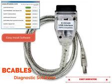 BMW USB OBD K + DCAN DIAGNOSTIC CABLE GT1 EDIABAS INPA DIS SSS NCS CODING ISTA