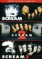 Scream 1-3 [New DVD] Gift Set, Subtitled, Widescreen, Ac-3/Dolby Digital, Dolb