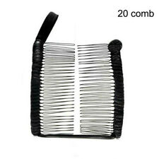 Women Vintage Hair Clip Christmas Hair Accessory Stretchable Banana Comb