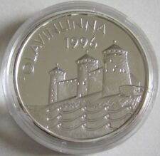 Finnland 20 Euro 1996 Europa Olavinlinna Silber