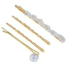 Hair Accessories Hairpin Set -Pear Gold Bobby Pin Barrette Hairpin Set
