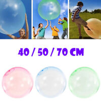 40-70CM Inflatable Bubble Ball Interactive Rubber Balloon Kids Outdoor Play Toys