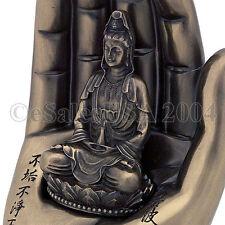 Guan Yin Buddha Hand Pinyin Kuan Gwan Eum Quan Am Statue Palm Shakyamuni Sutra