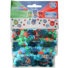 PJ MASKS CONFETTI VALUE PACK (3 types) ~ Birthday Party Supplies Foil Decoration