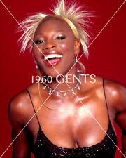 1990s 8X10 BUSTY TENNIS STAR SERENA WILLIAMS PHOTO FROM ORIGINAL NEG-SW1