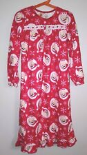 NWOT The Elf On The Shelf Girls Size S Red Flannel Christmas Nightgown