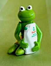 Ü-Ei Fremdfigur Erdal-Rex Frosch Putzmann Sammelfigur Werbefigur handbemalt 1999