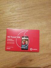 New Zealand Travel Sim Card 5gb Vodafone