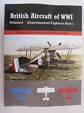 British Aircraft of WWI Volume 1: Experimental Fighters Part 1 - Color Profiles