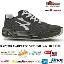 UPOWER SCARPE LAVORO ANTINFORTUNISTICA RAPTOR CARPET S3 SRC ESD U-POWER