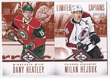 12-13 Limited Milan Hejduk /199 Captains Avalanche 2012 Panini