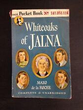 WHITEOAKS OF JALNA MAZO DE LA ROCHE FIRST EDITION 1946 POCKET BOOK