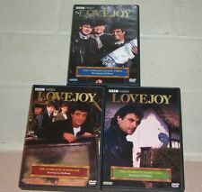 Lovejoy Series (DVD): Seasons 1, 2 & 3. Box sets. Used. Disks LIKE NEW.