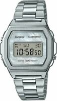 Casio Silver Digital Women Watch Casio Collection A1000D-7EF
