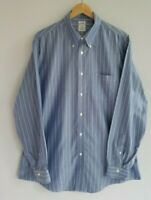 Brooks Brothers Regent Men's XL Non-Iron Cotton Striped Long Sleeve Shirt