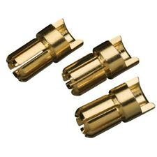 Great Planes GPMM3116 GOLD BULLET CONN MALE 6mm (3)