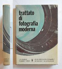 Trattato di fotografia moderna di J. M. Langford Il Castello 1969