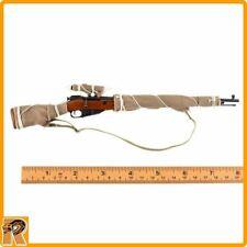 Vasily 10th Ann. (A Dirty) - Mosin Nagant Sniper Rifle - 1/6 Scale - DID Figures