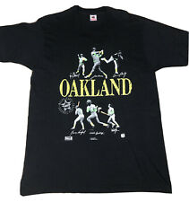 Vintage 1990 Mark McGuire,Jose Canseco Oakland Mvp Graphic Tee Made In Usa -Xl