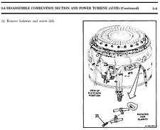 50 + Army T-62 T-53 T-55 T-700 AVIATION GAS TURBINE ENGINE Manual s on CD