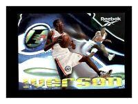 1997-98 Skybox Premium Shoe Promo SP Allen Iverson Reebok Foil NM-MT