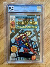 Marvel Team-Up #65 - 1st U.S. Appearance of Captain Britain - CGC 9.2