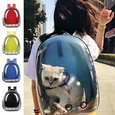 Us Astronaut Pet Cat Dog Puppy Carrier Backpack Travel Bag Case Capsule Fullview