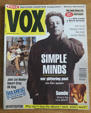 Vox magazine, January 1993, Simple Minds, John Llee Hooker, Suede, The Wedding P
