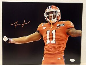 Isaiah Simmons Signed Clemson Tigers 11x14 Photo JSA