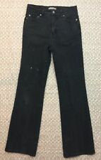 Levis 512 Women's Black Perfectly Slimming Bootcut Denim Jeans Size 8M J82