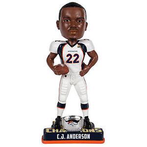 CJ Anderson Denver Broncos Champions Series - Super Bowl 50 Bobblehead NFL