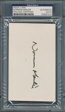 Norman Mailer Index Card PSA/DNA Certified Authentic Auto Autograph Signed *7374
